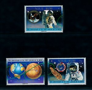[102265] Niue 1989 Space travel weltraum Apollo 11  MNH