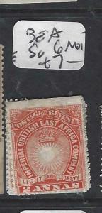 BRITISH EAST AFRICA   (P0105B)  QRMS  2A  SG 6 MOG