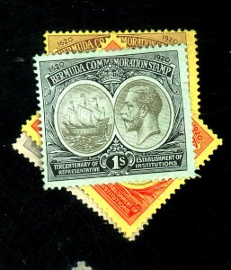 BERMUDA #57-60 MINT FVF OG HR Cat $66