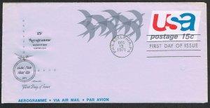 United States FDC Scott UC44a