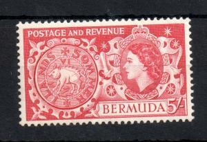 Bermuda QEII 1953 5/- SG#148 MNH unmounted mint WS13872