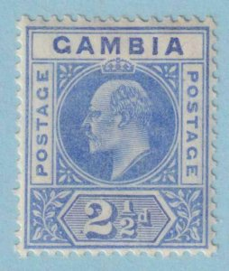 GAMBIA 45  MINT HINGED OG * NO FAULTS EXTRA FINE !
