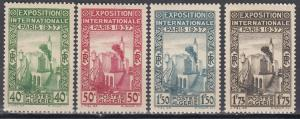 Algeria, Sc # 109-112, MNH, 1937, Paris International EXPO
