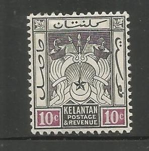 MALAYA, KELANTAN, 6, H, REVENUE