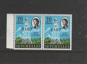 BIOT 1968 Def 20c No stop after O, UM with normal SG 4b