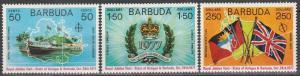 Barbuda #302-4  MNH (S3271)