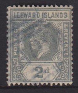 Leeward Islands Sc#68 Used Postmark Nevis A09