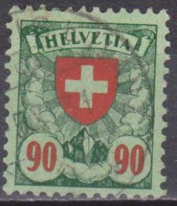 Switzerland #200 F-VF Used CV $2.75 (ST1313)