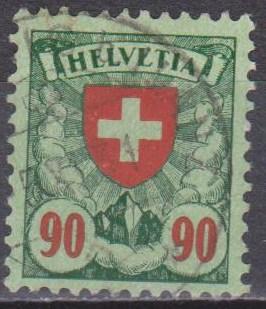 Switzerland #200 F-VF Used CV $2.75 (ST1313)