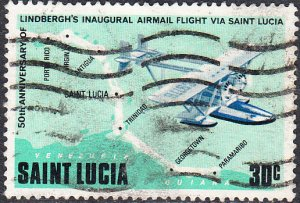 St. Lucia    #470    Used