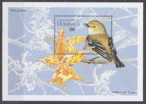 1995 Dominica 1970/B285 Birds 6,00 €