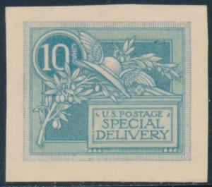 #E7-E4b 10¢ SPECIAL DELIVERY ESSAY XF-SUPERB GEM BU3237