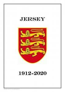 Jersey 1912-2020  PDF(DIGITAL) STAMP ALBUM PAGES