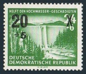Germany-GDR 223A block/4,MNH.Michel 449. Dam,new value,1954.