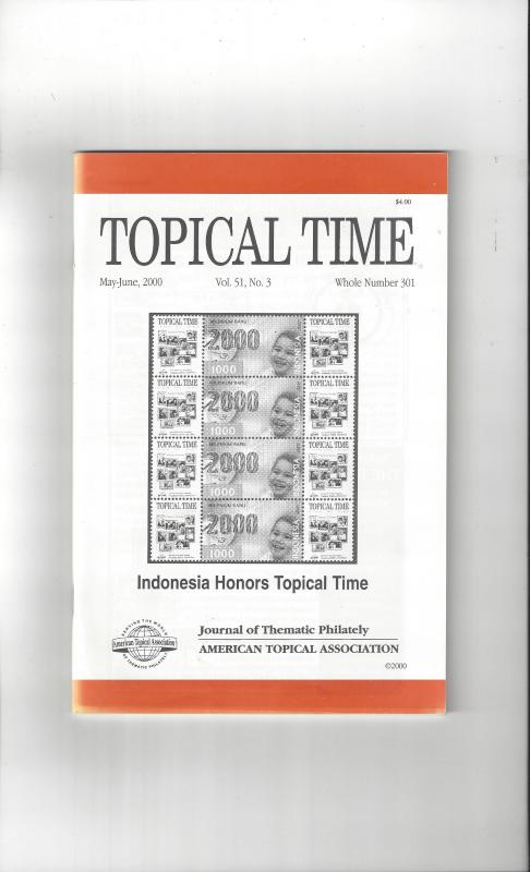 Topical Time Magazine MAY-JUN 2000  Number 301, ATA Journal
