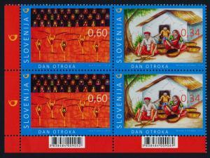 Slovenia 1097 BL Block MNH Children's Day, Art, Dance