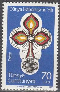 Turkey #2251  MNH