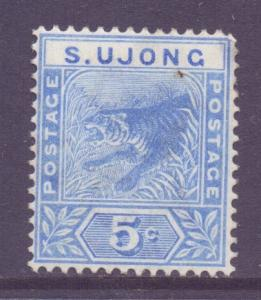 Malaya Negri Sembilan Sungei Ujong Scott 33 - SG52, 1891 Tiger 5c MH*
