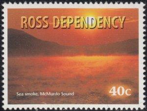 Ross Dependency 1999 MNH Sc L55 40c Sea smoke, McMurdo Sound