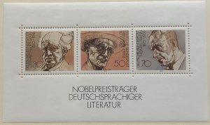 Germany 1267 MNH Souvenir Sheet