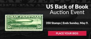 US Back of Book Auction #24