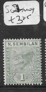 MALAYA NEGRI SEMBILAN (P0107B)  TIGER 1C  SG 2  MOG