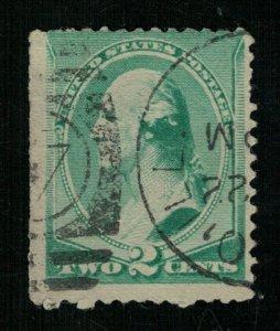 1887 George Washington 2c (ТS-1732)