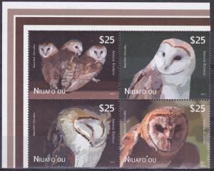 Niuafo`ou, Fauna, Birds, Owls MNH / 2013