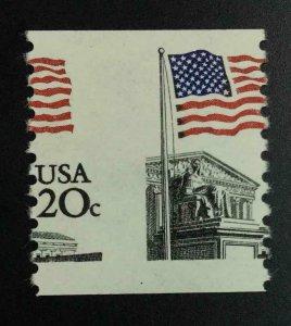MOMEN: US STAMPS #20c VAR. MISPERF MINT OG NH LOT #52982