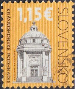 Slovakia  # 659702 Used