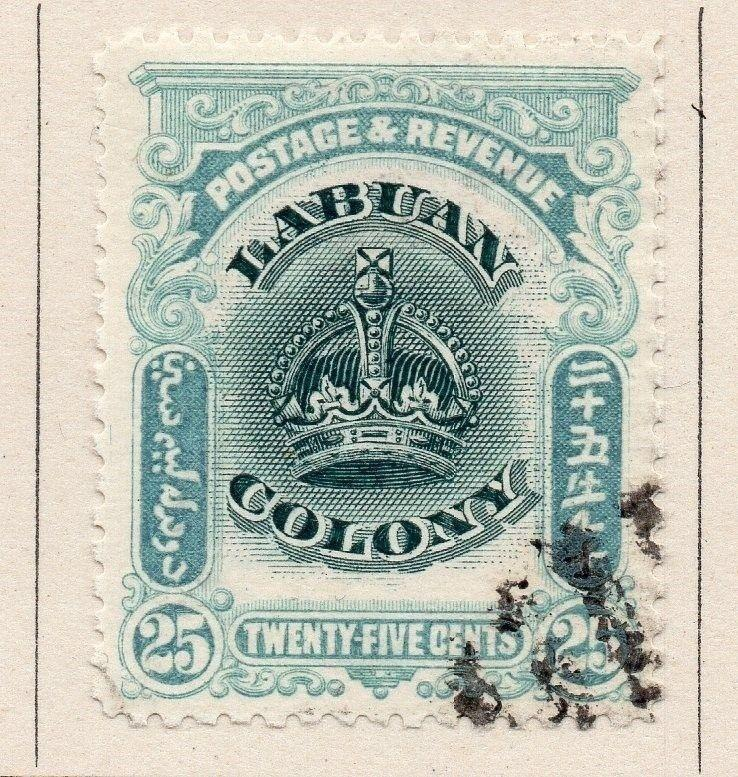 Labuan 1902 Early Issue Fine Used 25c. 206133