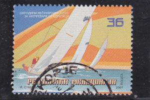 Macedonia  Scott#  417  Used