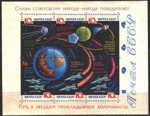 Soviet Union. 1964. bl 38. space. MNH.