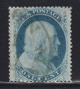 24 XF used neat cancel with nice color cv $ 43 ! see pic !