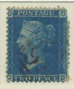 Great Britain Stamp Scott #29 Plate 9, Used, Torn Perfs - Free U.S. Shipping,...