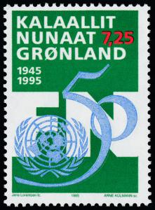 Greenland 288 MNH United Nations 50th Anniversary