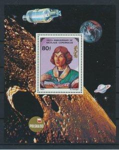 [I827] Mongolia 1993 Nicolas Copernic good sheet very fine MNH
