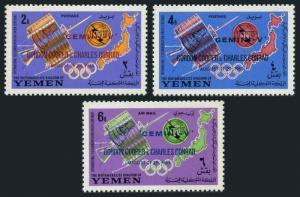 Yemen Kingdom 179A-181A,179B-181B,Bl.23a,MNH.ITU-100,1965.Gemini V.Cooper,Conrad