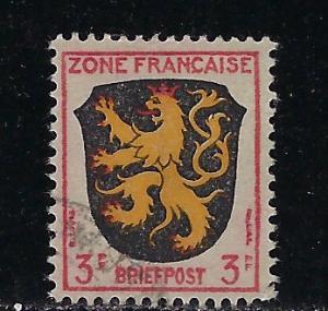 Germany - under French occupation - Scott # 4N2, used