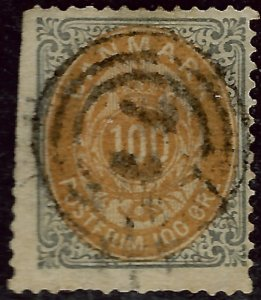 Denmark #34 Used F-VF perf faults hr SCV$60...choose your price!