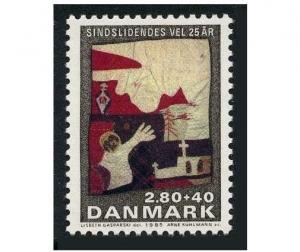Denmark B67,MNH.Michel 849. Welfare of the Mentally ill.1985.