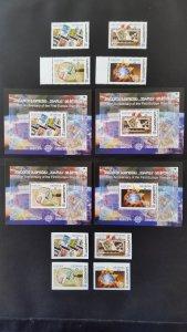 50th anniversary of EUROPA stamps - Georgia - 4x Bl + 2x set ** MNH