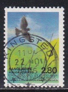 Denmark # 823e, Birds, Used, 1/3 Cat.
