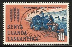 Kenya, Uganda & Tanzania 1963 Scott# 138 Used