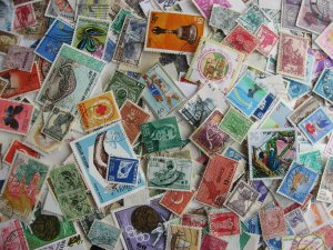 Asia colossal mixture (duplicates,mixed condition) about 1000 35% commem 65% def