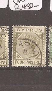 Cyprus SG 30 Papho VFU (10ccr)