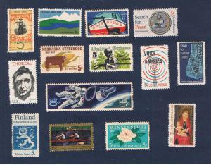 #1323-1337 MNH OG 1967 Commemoratives Complete Free S/H