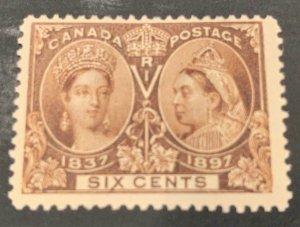 Canada #55 MINT F-VF Jubilee C$225.00 Jumbo Margin at Right and Bottom