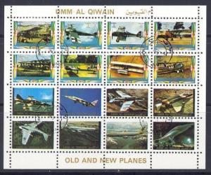 UMM AL QIWAIN - Michel # 1290-1305 used - cto (RS-3)