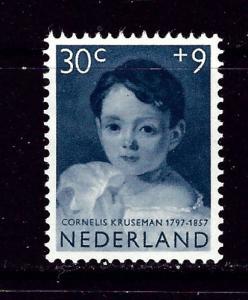 Netherlands B320 Hinged 1957 issue